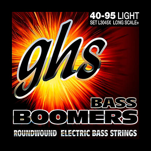 GHS Boomers Long Scale Plus Lite Bass Guitar Strings-thumbnail