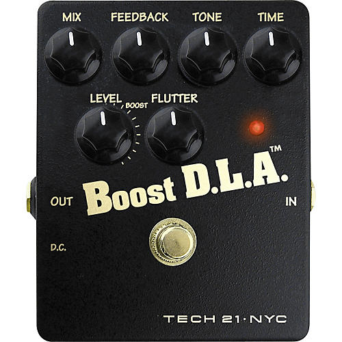 Tech 21 Boost D.L.A. Analog Delay Emulator Pedal-thumbnail