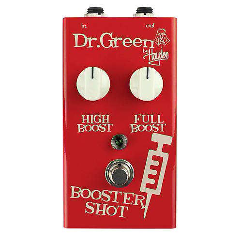 Dr. Green Booster Shot Signal Booster Guitar Effects Pedal