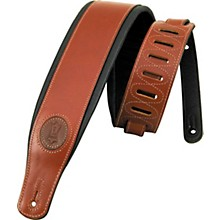 Levy's Boot Leather Guitar Strap Walnut