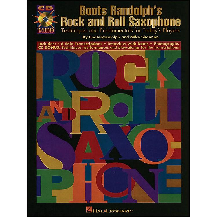 Hal LeonardBoots Randolphs Rock & Roll Saxophone Book/CD
