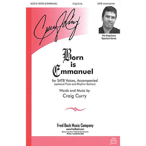 Fred Bock Music Born Is Emmanuel SATB-thumbnail