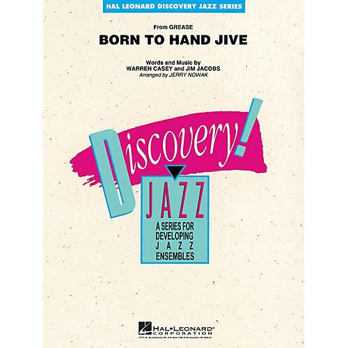 Hal Leonard Born to Hand Jive Jazz Band Level 1-2 Arranged by Jerry Nowak-thumbnail