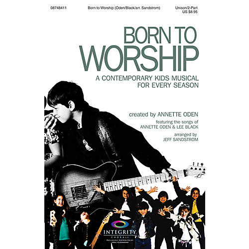 Integrity Choral Born to Worship (A Contemporary Kids Musical for Every Season) CD 10-PAK Arranged by Jeff Sandstrom-thumbnail