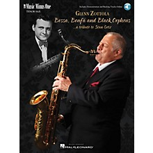 Music Minus One Bossa, Bonfá & Black Orpheus for Tenor Saxophone Music Minus One Series Book with CD by Stan Getz