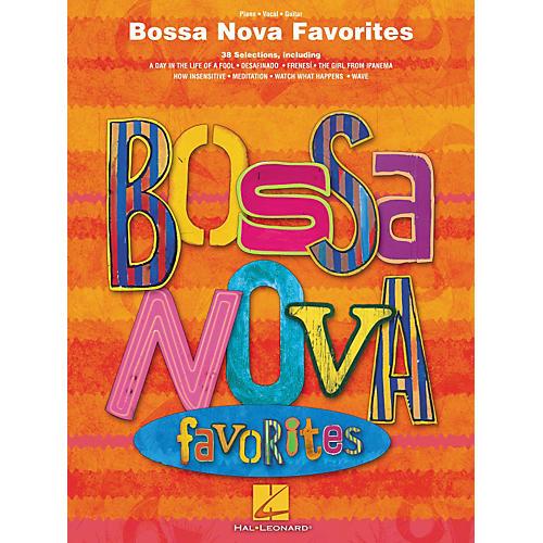 Hal Leonard Bossa Nova Favorites Piano/Vocal/Guitar Songbook-thumbnail