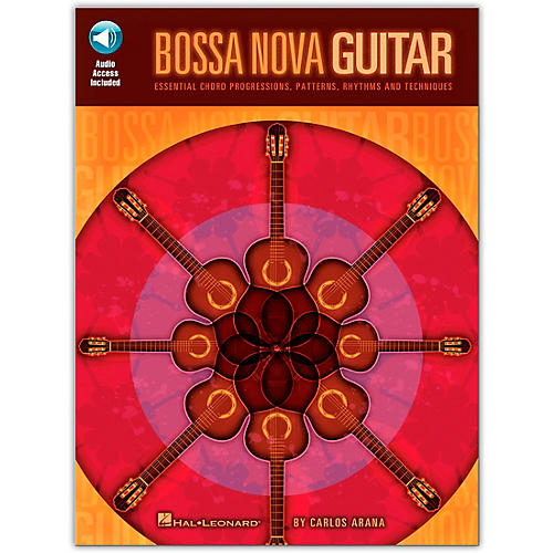 Hal Leonard Bossa Nova Guitar (Book/Online Audio)-thumbnail
