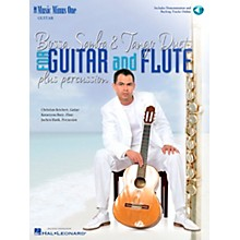 Music Minus One Bossa, Samba & Tango Duets for Guitar and Flute Music Minus One Series Softcover with CD