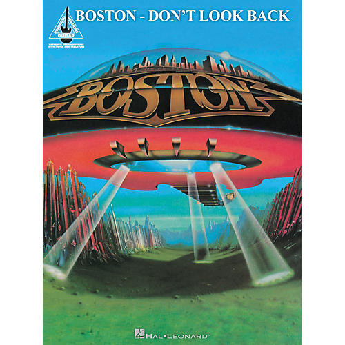 Hal Leonard Boston - Don't Look Back Guitar Recorded Version Songbook