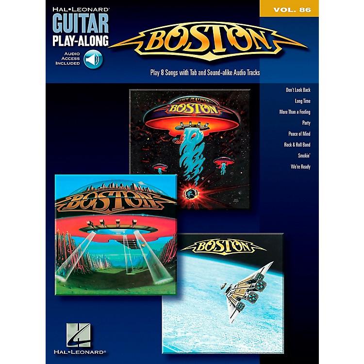 Hal LeonardBoston - Guitar Play-Along Series, Volume 86 (Book/CD)