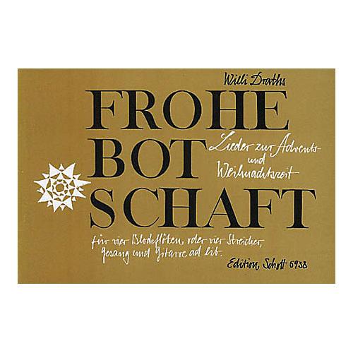 Schott Botschaft 4 Recorder Parts SATB-thumbnail
