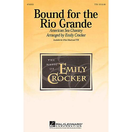 Hal Leonard Bound for the Rio Grande TBB arranged by Emily Crocker-thumbnail