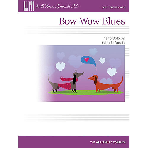 Willis Music Bow-Wow Blues (Early Elem Level) Willis Series by Glenda Austin-thumbnail
