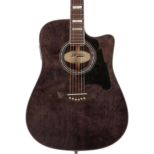 D'Angelico Bowery Dreadnought Cutaway Acoustic-Electric Guitar-thumbnail