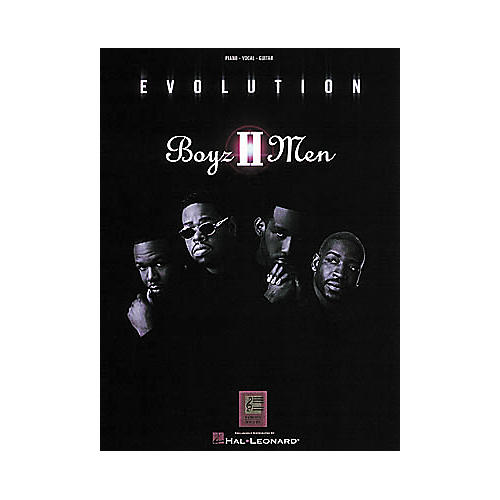 Hal Leonard Boyz II Men - Evolution Piano, Vocal, Guitar Songbook
