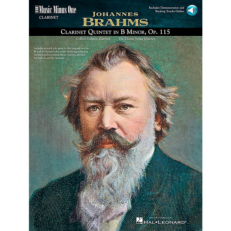 Hal LeonardBrahms Clarinet Quintet