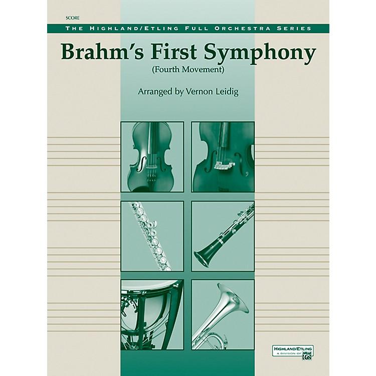 AlfredBrahms's 1st Symphony, 4th Movement - Concert Orchestra Grade 3 Set