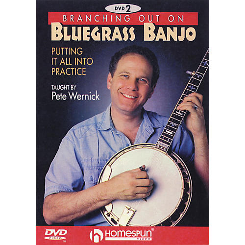 Homespun Branching Out on Bluegrass Banjo 2 (DVD)