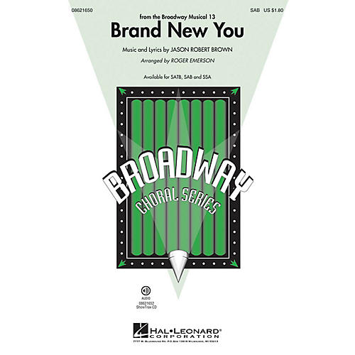 Hal Leonard Brand New You (from 13) SAB arranged by Roger Emerson