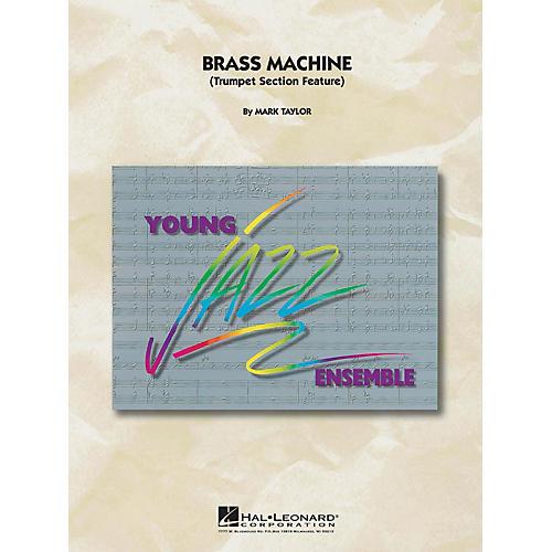 Hal Leonard Brass Machine Jazz Band Level 5 Composed by M Taylor