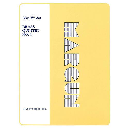 Margun Music Brass Quintet No. 1 Shawnee Press Series by Alec Wilder-thumbnail