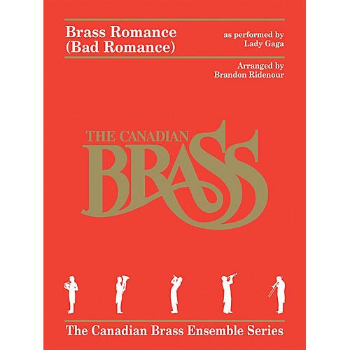 Canadian Brass Brass Romance (Brass Quintet) Brass Ensemble Series by Canadian Brass Arranged by Brandon Ridenour-thumbnail