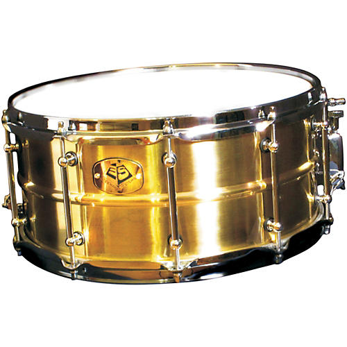 Eccentric Systems Design Brass Snare Drum