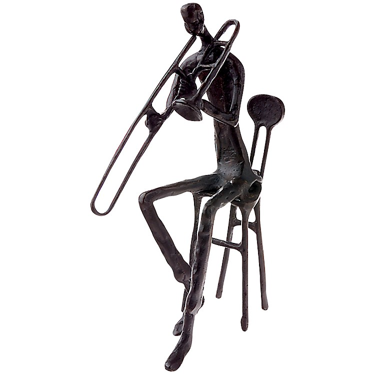 AIMBrass Trombonist Figurine