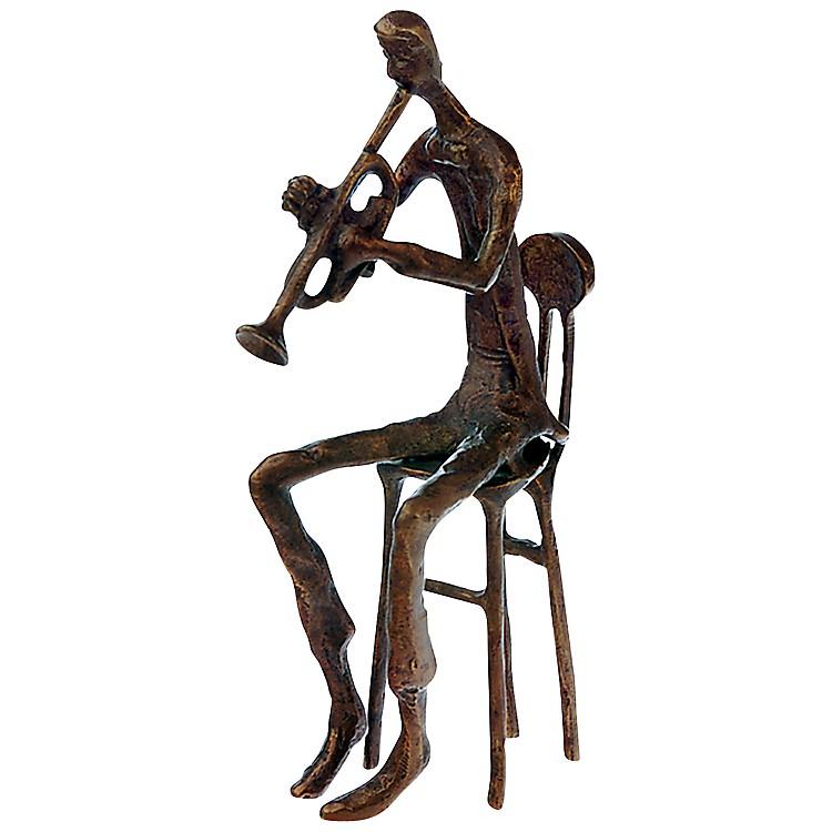 AIMBrass Trumpet Player Figurine