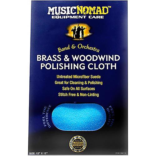Music Nomad Brass & Woodwind Untreated Microfiber Polishing Cloth-thumbnail