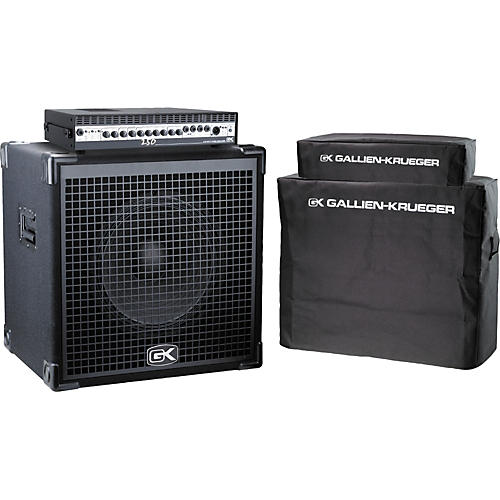 Gallien-Krueger Brat Pack Half-Stack Bass Amp Package