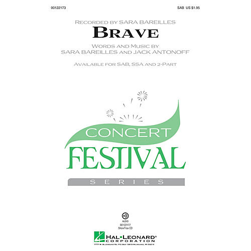 Hal Leonard Brave SSA by Sara Bareilles Arranged by Audrey Snyder-thumbnail