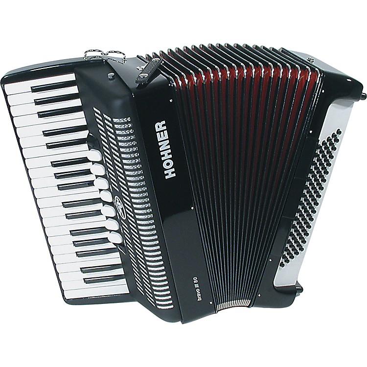 HohnerBravo Piano Accordion 80 Bass