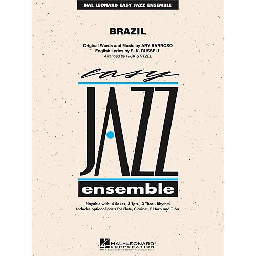Hal Leonard Brazil - Easy Jazz Ensemble Series Level 2