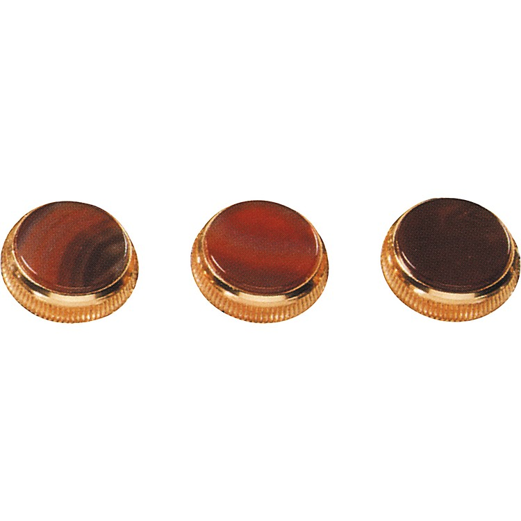 Bach Brazilian Agate Trumpet Finger Buttons 3-Pack Nickel