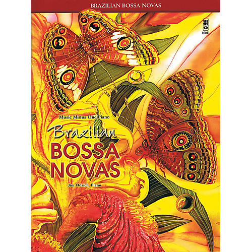 Music Minus One Brazilian Bossa Novas Music Minus One Series Softcover with CD Performed by Jim Odrich-thumbnail