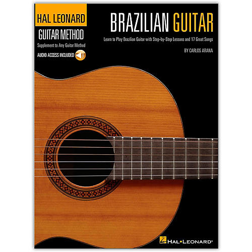 Hal Leonard Brazilian Guitar Method -  Step-by-Step Lessons and 17 Great Songs (Book/Online Audio)-thumbnail