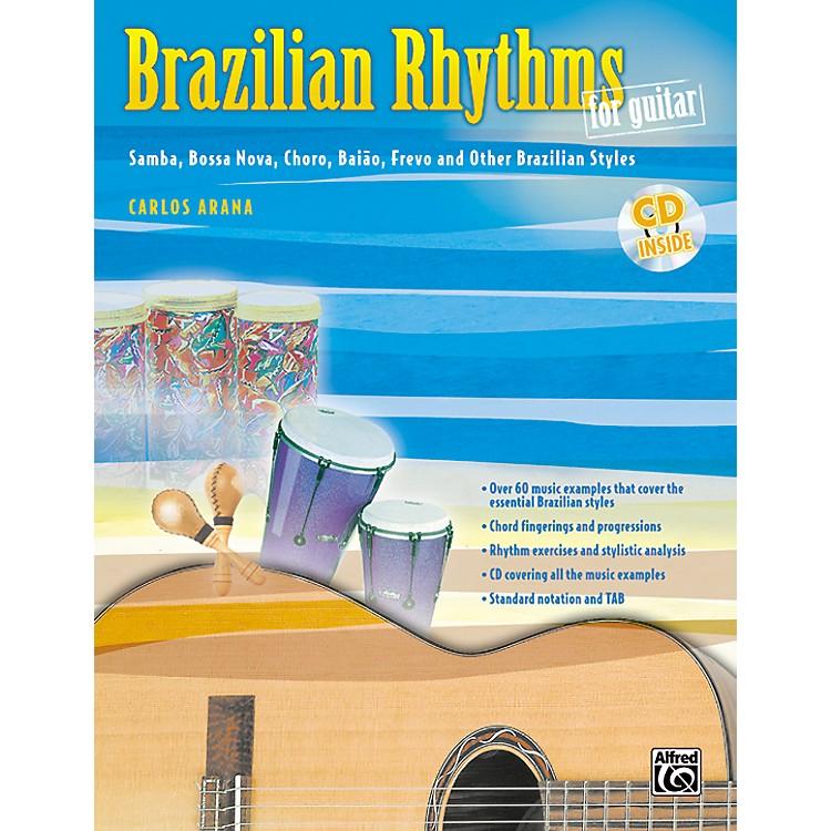 AlfredBrazilian Rhythms for Guitar - Book/Cd