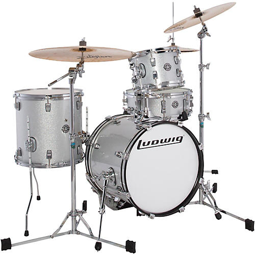 Ludwig Breakbeats by Questlove 4-Piece Shell Pack-thumbnail