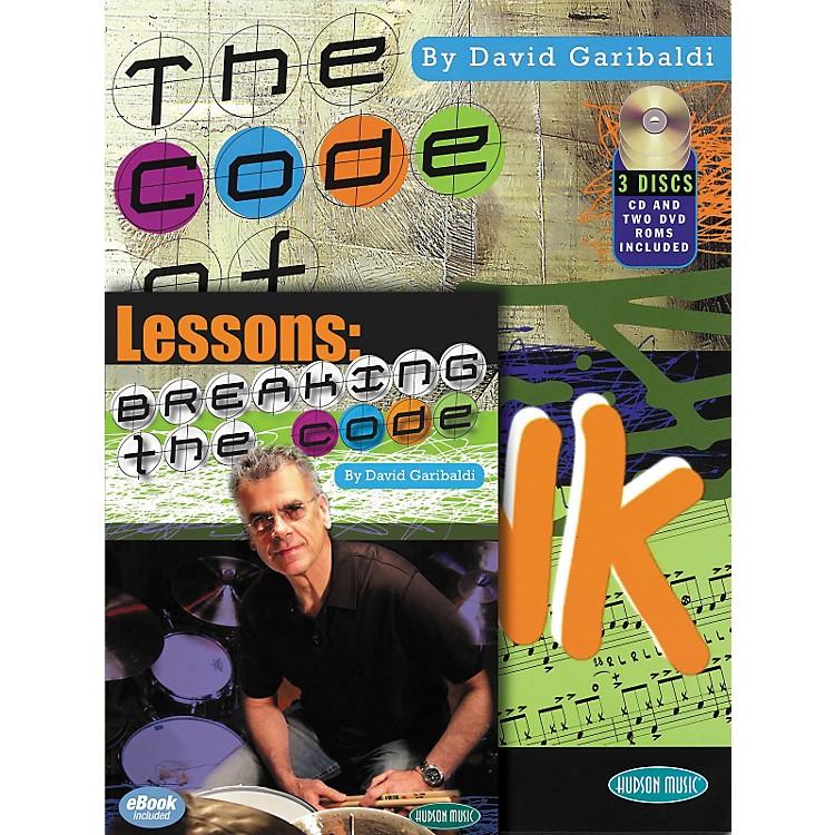 Hal LeonardBreaking The Code - David Garibaldi Book/CD/DVD Combo Pack