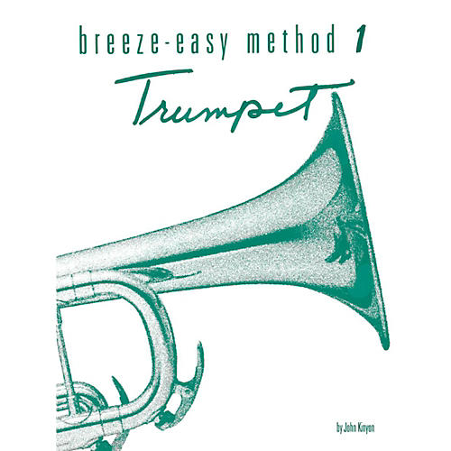 Alfred Breeze-Easy Method for Trumpet (Cornet) Book I