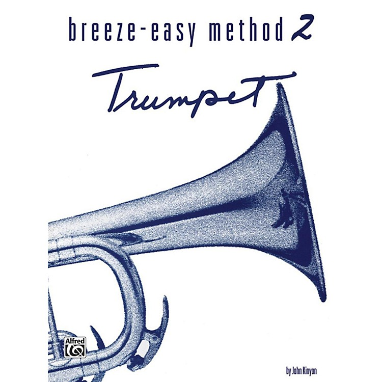 Alfred Breeze-Easy Method for Trumpet (Cornet) Book II