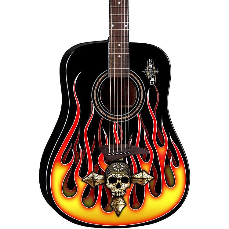 Dean Bret Michaels Acoustic Guitar The Player