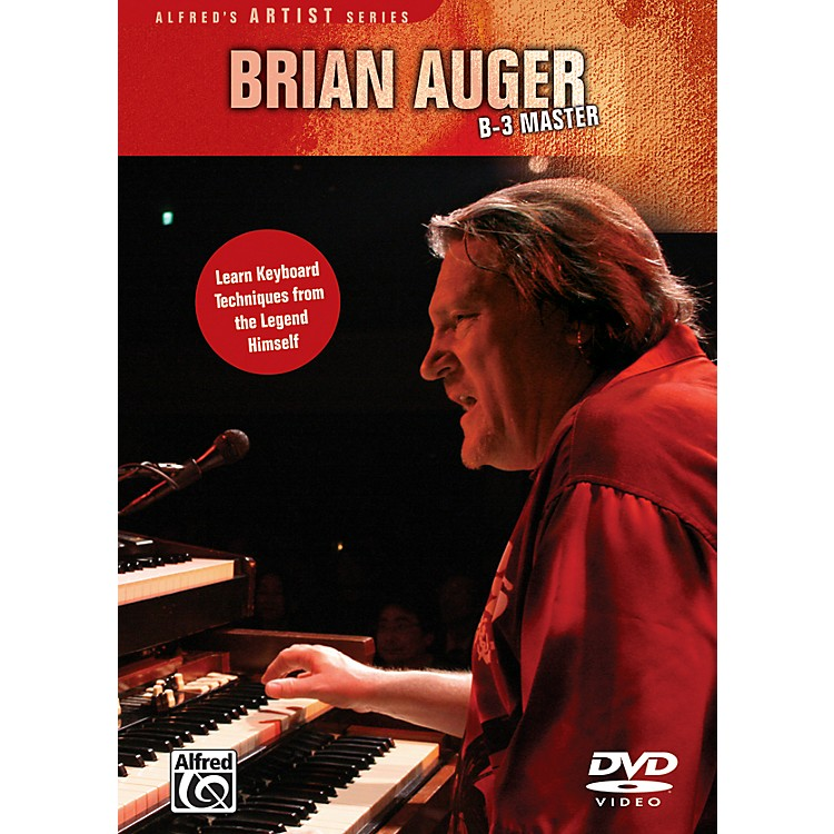 Alfred Brian Auger - B3 Master (DVD)