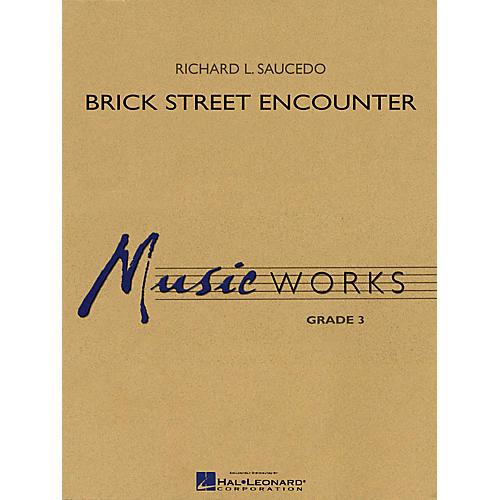 Hal Leonard Brick Street Encounter Concert Band Level 3 Composed by Richard L. Saucedo-thumbnail