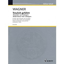 Schott Bridal Chorus Woodwind Ensemble Softcover  by Richard Wagner Arranged by Joachim Linckelmann