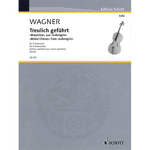 Schott Bridal Chorus from Lohengrin (Cello Quartet) String Series-thumbnail