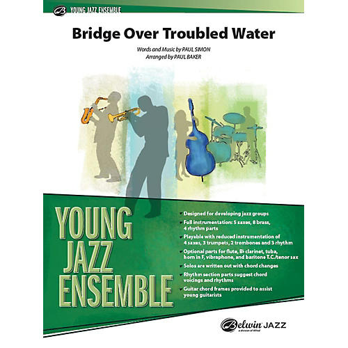 Alfred Bridge over Troubled Water Jazz Band Grade 2 Set-thumbnail