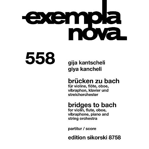 Sikorski Bridges to Bach Study Score Series Softcover Composed by Giya Kancheli-thumbnail