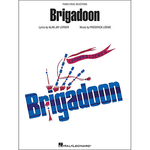 Hal Leonard Brigadoon arranged for piano, vocal, and guitar (P/V/G)-thumbnail
